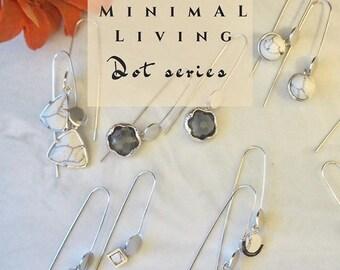 Inifinity Dot Earrings