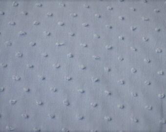 SKY blue satin fabric