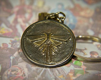 Firefly pendant etsy the last of us key chain firefly pendant mozeypictures Images