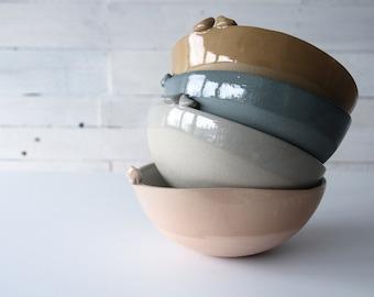 large bowl, unique wedding gift, engagement gift, large ceramic bowl, large serving bowl, salad bowl, handmade tableware by karoArt