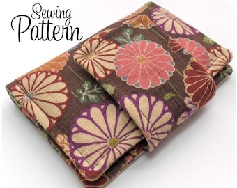PDF Sewing Pattern - Business Card Wallet - Delivered by Email
