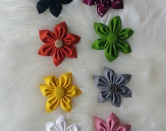 Solid colored flowers