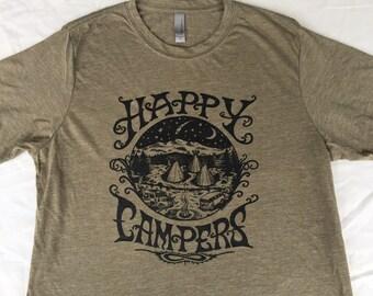 Happy Campers Men's T~shirt