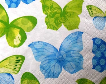"""Butterflies 3"" towel"