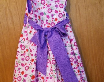Poof dress Purple and pink