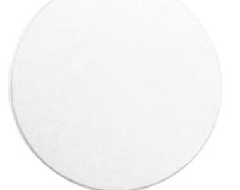 Circle 1  inch Aluminum Stamping Blanks-Soft Strike Aluminum -20 Gauge- 6 pack