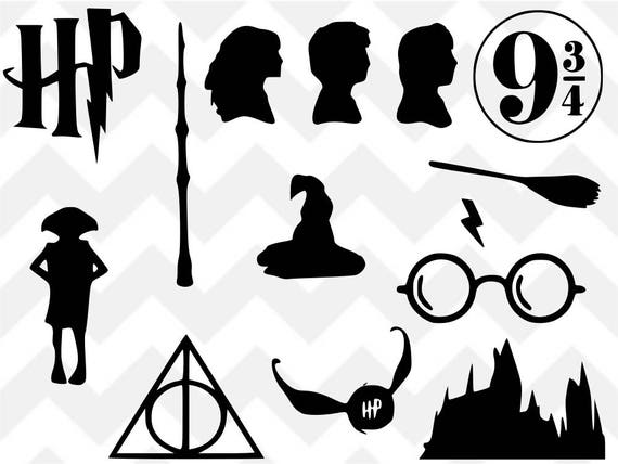 harry potter svg harry potter bundle deathly hallows svg. Black Bedroom Furniture Sets. Home Design Ideas