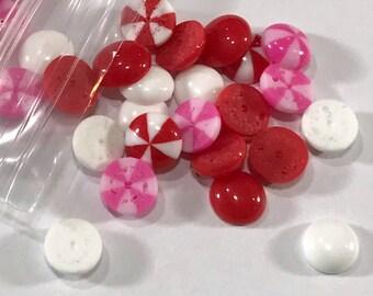 Valentine Enamel Dots