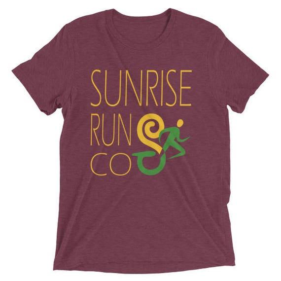 Men's SunriseRunCo Era Light TriBlend T-Shirt - Sunrise Running Company - Men's Short Sleeve Running Shirt