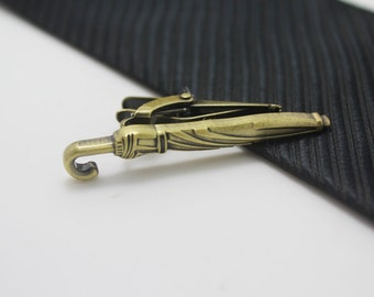 Umbrella Tie Clip, Bronze Umbrella Accessories, Novelty Accessories, Gift For Man