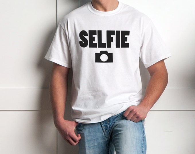 Selfie T-Shirt with Camera