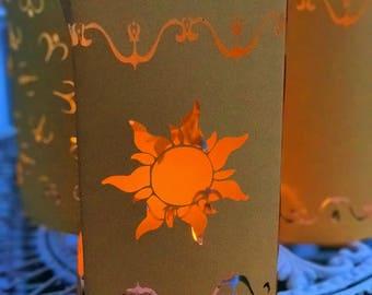 Tangled Lantern | Rapunzel Lantern | Large Paper Lantern Variety Pack