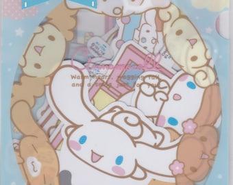 Sanrio Original Cinnamoroll Decoration Die Cut Stickers in A5 File Folder Organizer (688231) Price depends on order volume.