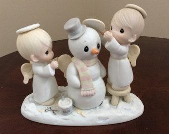 "Precious Moments figurine ""Halo, and Merry Christmas"" #12351, Enesco."