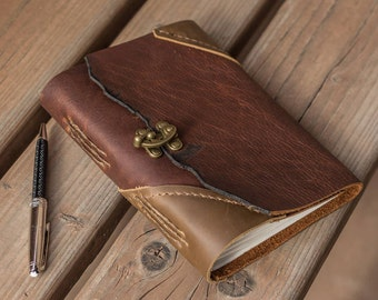 The Troubadour Leather Journals | Handmade in the USA | Hand-Stitched Notebook