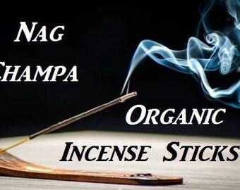 NAG CHAMPA Organic Incense Sticks