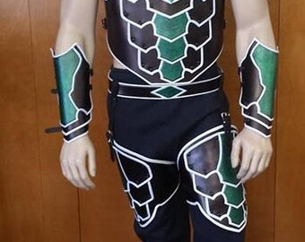 Leather Armor Green Lantern Set 2