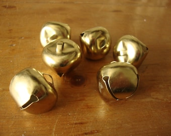 gold metal bells embellishments crafts supplies gift wrap package decorations party supplies kids crafts