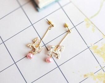 Dreamy Carousel Earrings