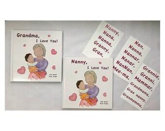 Grandma, I Love You! - dark haired child