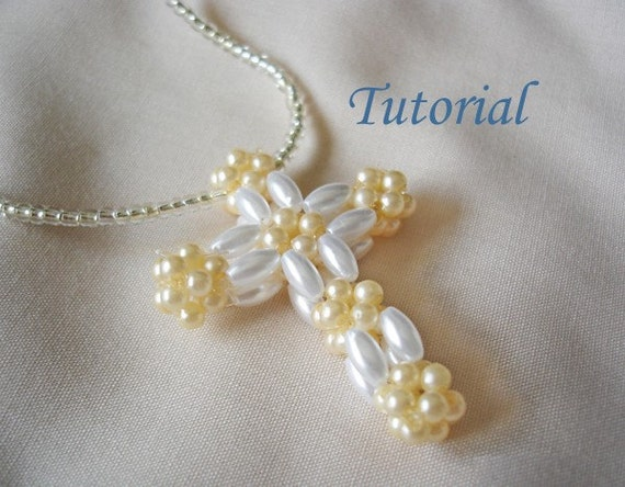 Beaded cross beading tutorial beaded christian cross pendant beaded cross beading tutorial beaded christian cross pendant pattern religious pendant beading faith amulet christianity charm aloadofball Choice Image