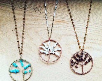 Necklace: Tree of life