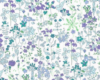 Liberty Fabric Tana Lawn Half Yard Field Flowers D