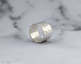 Social Impact - Sterling Silver Caged Ring