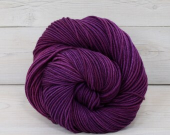 Calypso - Hand Dyed Superwash Merino Wool DK Light Worsted Yarn - Colorway: Jelly Bean
