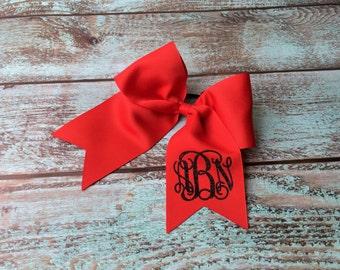 Monogram Cheer Bow, Hair Bows, Cheer Bows, Monogrammed Hair Bow, Big Cheer Bow, Monogrammed Gifts, Cheerleading Hair Bows