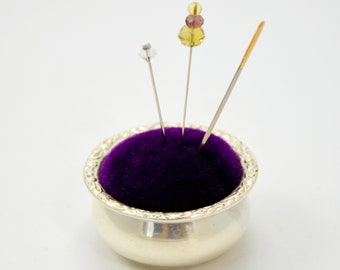 Sterling Silver Pincushion