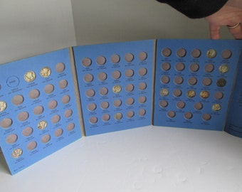 Mercury Dime Collector Book with Mercury Dime Coins Silver Us Coins Mercury Dime Collection and Book Coins and Book Collecting Coins Dimes