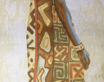 """Gobelin Tapestry Needlepoint Kit """"Africa """" cod. 397"""