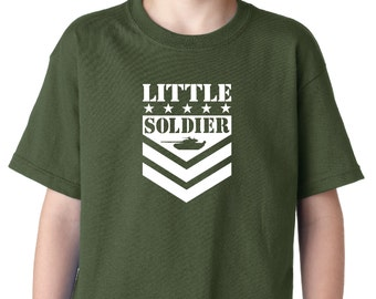 Army Kids T-Shirt, with FREE camo wallet!