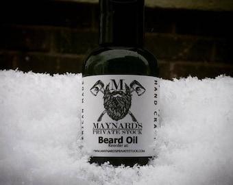 Beard Oil - Maynard's Original (Clove scented beard oil) best selling items, beard care, self care, beard gift set, beard grooming oil, gift