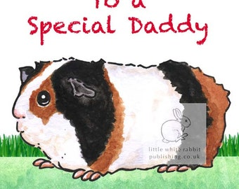 Ozzie the Guinea Pig - Birthday Card