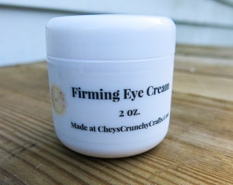 Firming Eye Cream, 2oz. - Daytime & Nighttime Cream - Anti Aging Eye Cream - Firming Cream - Clean Ingredients