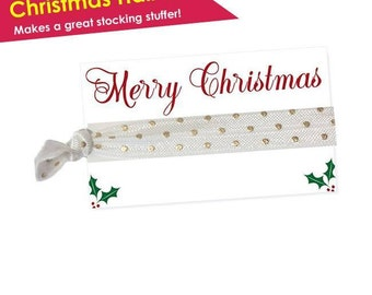 christmas hair accessories - stocking stuffers for kids - stocking stuffers for women - christmas gifts for coworkers - gifts under 10