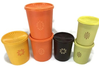 Vintage Tupperware Canister with Lid * Select your Choice