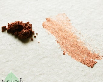 COPPER SHIMMER, mineral eye color, Metallic series