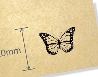 Clear Acrylic Stamp. Butterfly stamp