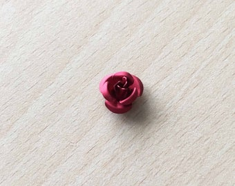 pretty pink 12 mm red metal