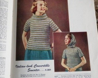Coats and Clarks Sweaters Book No. 509