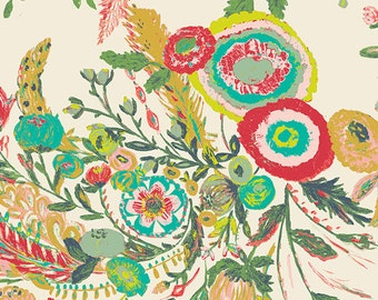 Microburst Tropics fabric (sold in 1/2 yard increments) from From Millie Fleur by Bari J. (Art Gallery Fabrics)