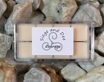 Courage   Scented Soy Wax Melting Bar