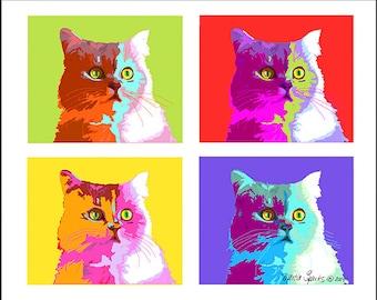 Pop Art Cats