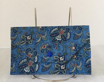 Cash Envelope in Various Fabrics, Check Book Cover, Coupon Carrier