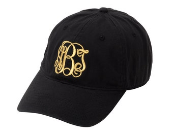 Monogrammed Cap