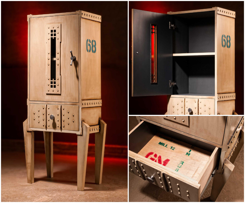 Industrial Furniture. Steampunk Furniture Man Cave Furniture