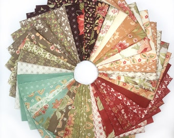 Moda Fabrics and Fig Tree Quilts Tapestry Collection One 39 Piece Fat Quarter Yard Bundle
